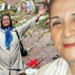 درگذشت مادر لطفی «نماد خاوران»
