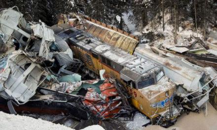 سه کشته در حادثه ی خروج قطار از ریل در بریتیش کلمبیا