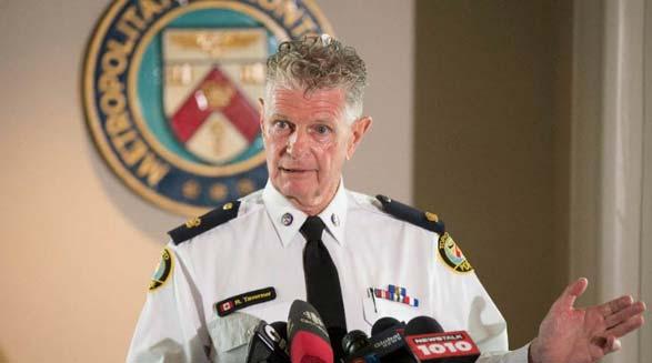براد بلر، معاون رئیس پلیس انتاریو، اخراج می شود
