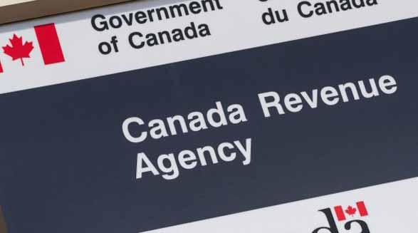 اخلال در وب سایت سازمان مالیات بردرآمد کانادا
