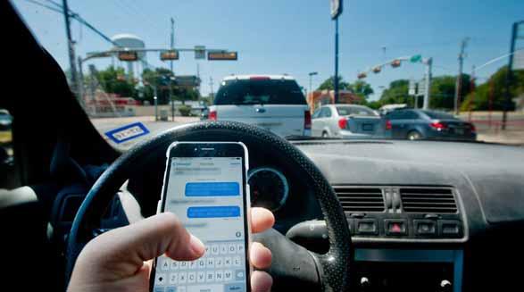 عدم تمرکز و موارد حواس پرتی در رانندگی/فرهاد فرسادی