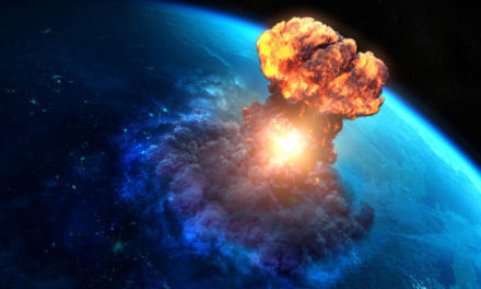 شهاب سنگی که در ماه دسامبر در جو زمین منفجر شد ۱۰ بار قوی تر از بمب هسته ای هیروشیما بود