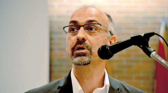 سخنرانی دکتر مجتبی مهدوی در کانون کتاب تورنتو
