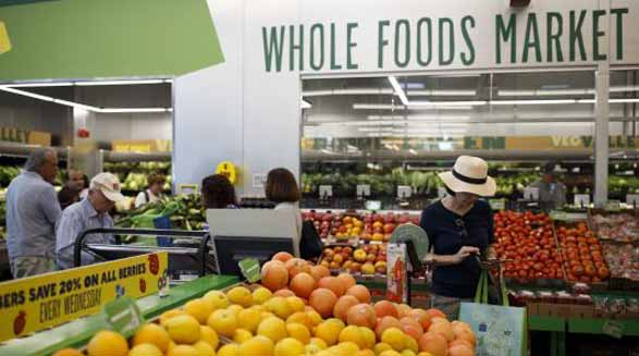 کاهش قیمت مواد غذایی در سوپر مارکت لوکس هول فودز
