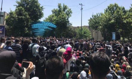 حمله «لباسشخصیها» به تجمع دانشجویان دانشگاه تهران