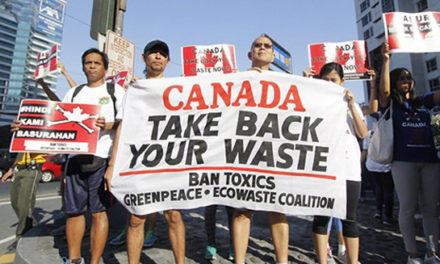دعوای کانادا و فیلیپین بر سر آشغال