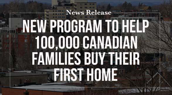 کمک دولت فدرال به خریداران مسکن در کانادا