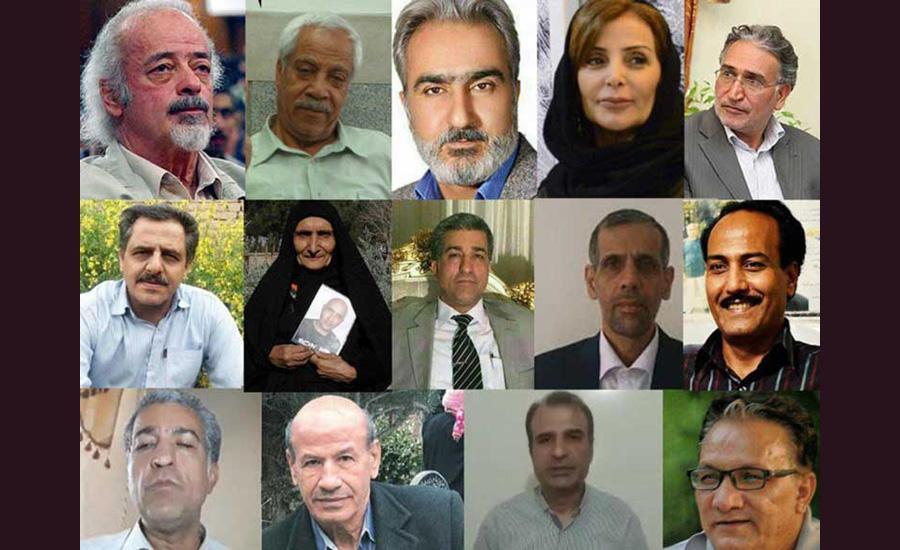 شماری از کنشگران داخل ایران خواستار استعفای خامنهای شدند