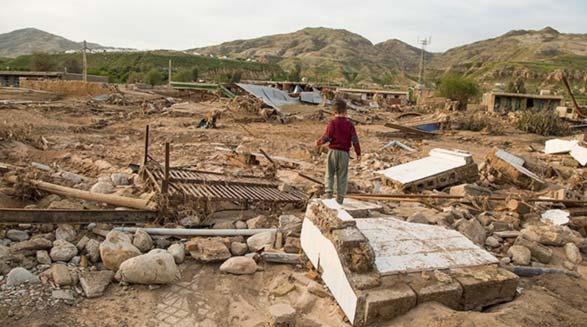 خلف وعده مقامات به سیلزدگان در ایران: فعلا وامی برای تعمیر و ساخت خانهها داده نمی شود