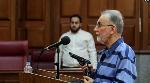دومین جلسه دادگاه قتل میترا استاد؛ نجفی: بازپرس میخواست «مهدور الدم» را در دهان من بگذارد