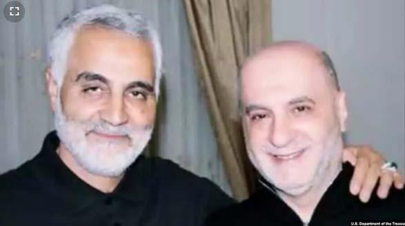 وزارت خزانه داری آمریکا سه عضو حزب الله لبنان و نزدیک به قاسم سلیمانی را تحریم کرد