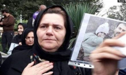 گزارشگران بدون مرز خواستار آزادی فرنگیس مظلوم مادر سهیل عربی زندانی سیاسی شد