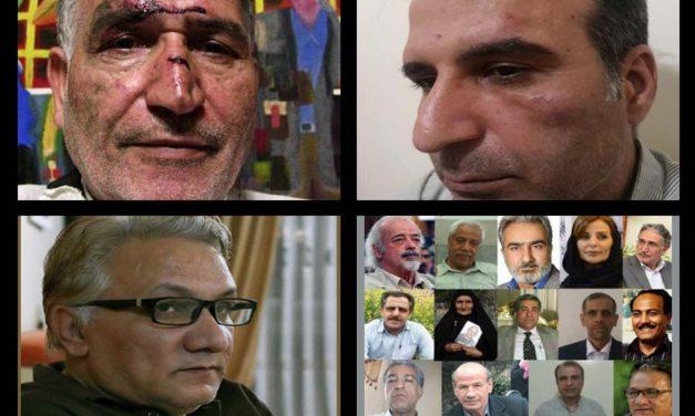 ضرب و جرح و تهدید اعضای بیانیه ۱۴ تن در ایران