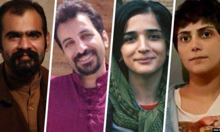 صدها دانشجو به صدور احکام قضایی و زندانی کردن فعالان دانشجویی در ایران اعتراض کردند