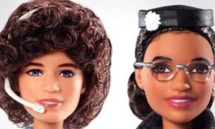 عروسکهای باربی دو زن تاریخساز آمریکایی وارد بازار شد