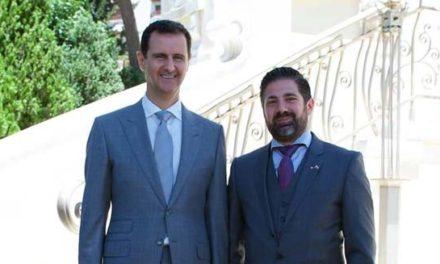 عکس جنجالی کاردار سفارت سوریه در مونترال