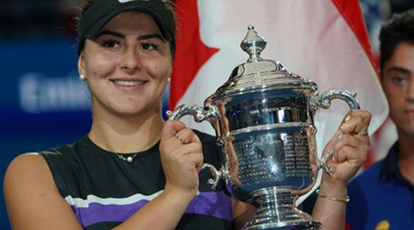 بیانکا آندرسکو  ملکه ی جدید آمریکای شمالی در تنیس