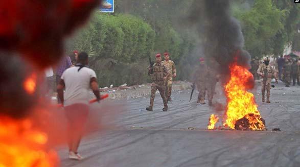ادامه درگیریهای خونین در عراق؛ معترضان عراقی میگویند ایران باعث شده که آنها در کشورشان بیگانه باشند