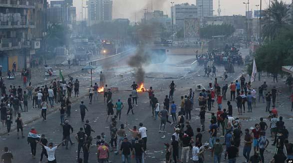 بیانیه جمعی از فعالین سیاسی مدنی در حمایت از مردم عراق