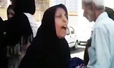 زن معترض ایرانی: شرم بر حکومتی که مردم خود را گرسنه نگه داشته و از تروریستها حمایت میکند