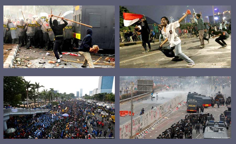 شورش جوانان اندونزی علیه طرح اجرای شریعت اسلام