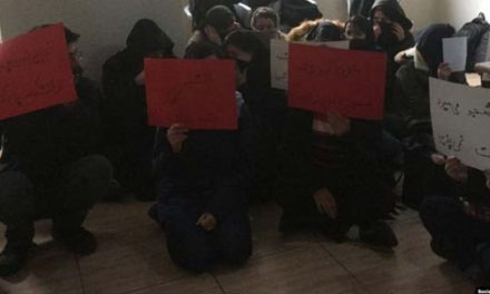 سرکوب گسترده دانشجویان در ایران