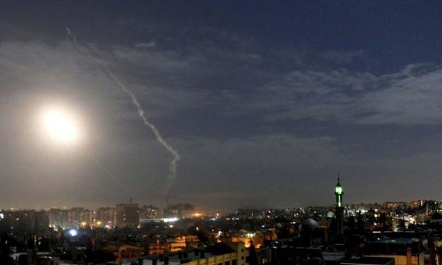 اسرائیل مواضع نیروی قدس سپاه در سوریه را مورد هدف قرار داد
