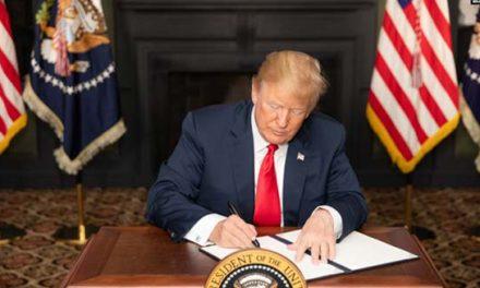 پرزیدنت ترامپ وضعیت «اضطراری ملی» علیه رژیم ایران را برای یکسال دیگر تمدید کرد