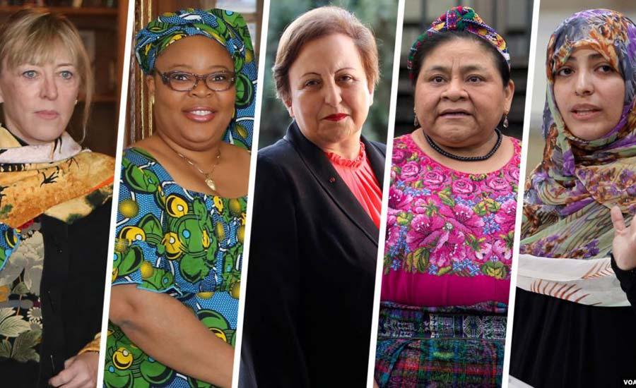 گروهی از برندگان جایزه صلح نوبل به سرکوب شدید مردم و قطعی اینترنت در ایران اعتراض کردند