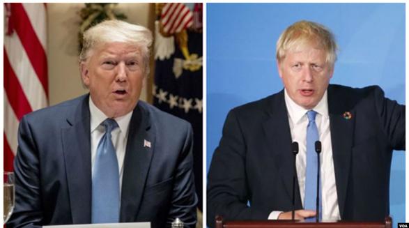 پیروزی قاطع بوریس جانسون در انتخابات بریتانیا؛ استقبال و تبریک رئیس جمهوری آمریکا