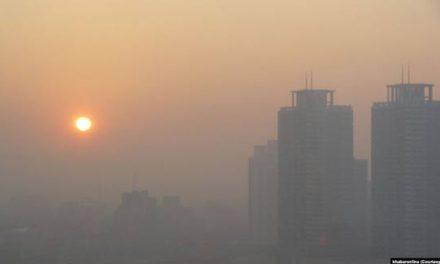 مراجعه ۲۴۲۶ نفر به اورژانس به خاطر آلودگی هوا طی ۲۴ ساعت