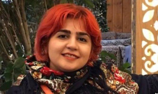 توئیتر سپیده قلیان پس از اعلام «شکایت از صداوسیمای جمهوری اسلامی» از دسترس خارج شد