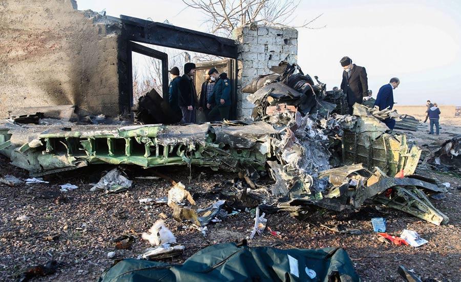 ۱۴۴ ایرانی و ۳۲ تبعه خارجی در سقوط هواپیمای اوکراینی در ایران کشته شدند