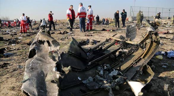 در سقوط هواپیمای مسافربری اوکراینی بر فراز ایران/فرهاد فرسادی