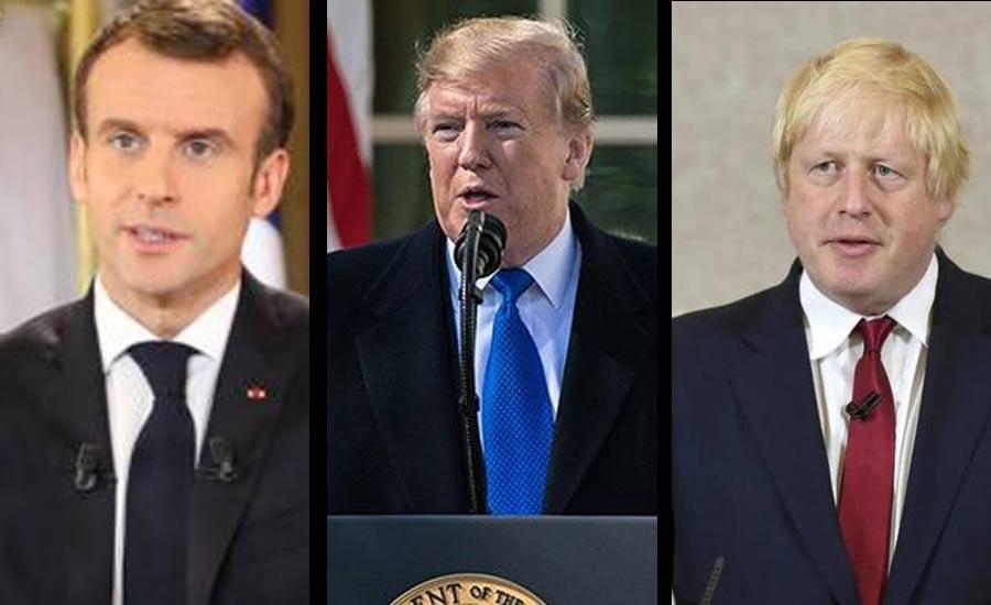 گفتوگوی رهبران بریتانیا و فرانسه با پرزیدنت ترامپ؛ ماکرون: ایران از تشدید وضعیت خودداری کند