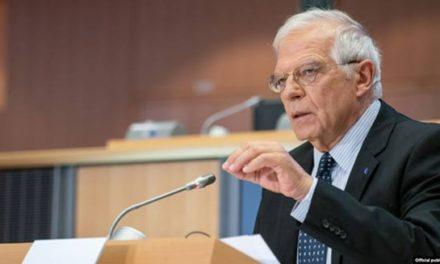 مسئول سیاست خارجی اتحادیه اروپا: اعلام خبر ایران درباره کاهش تعهدات توافق هستهای مایه تاسف است