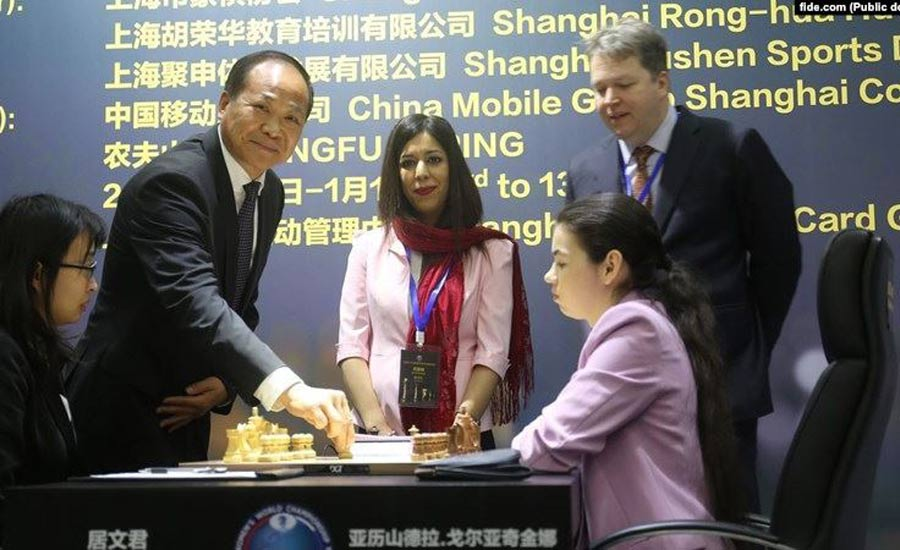 در پی جنجال بر سر حجاب، داور مسابقات جهانی شطرنج دیگر به ایران بازنمیگردد