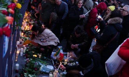 تجمع اعتراضی صدها نفر در استکهلم در رابطه با فاجعه سقوط هواپیما در ایران