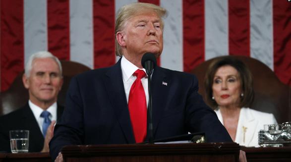 گزارش سالانه پرزیدنت ترامپ در کنگره؛ اشاره به قاسم سلیمانی به عنوان «بیرحمترین قصاب» رژیم ایران