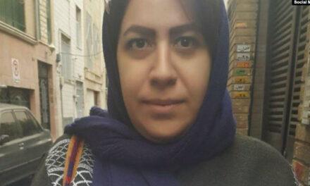 رضوانه احمد خانبیگی پس از بازداشت مجدد در اعتراضات آبان ماه، به ۶ سال زندان محکوم شد