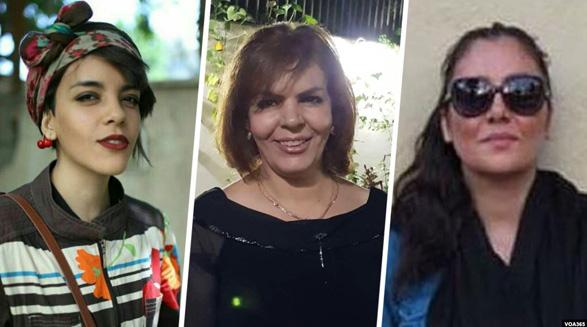 حکم بیش از پنج سال زندان سه زن مخالف حجاب اجباری در دادگاه تجدیدنظر تایید شد