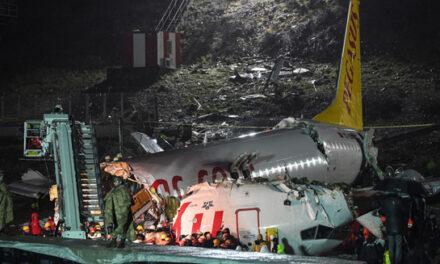 سانحه هواپیمای پگاسوس ترکیه ۳ کشته و ۱۷۹ مصدوم برجای گذاشت