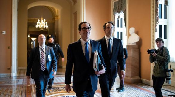 کاخ سفید و کنگره بر سر لایحه نجات از ویروس کرونا توافق کردند