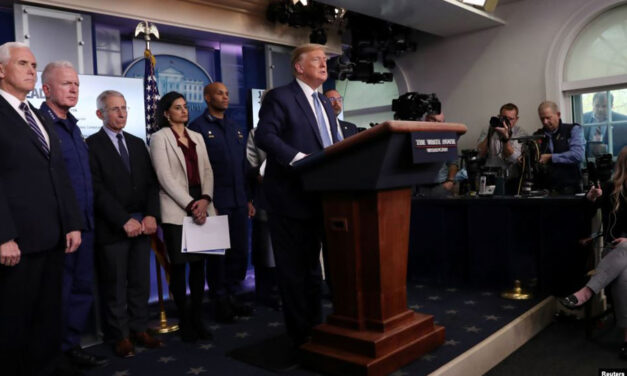 پرزیدنت ترامپ: کارگروه کووید۱۹ کاخ سفید به کار خود ادامه خواهد داد