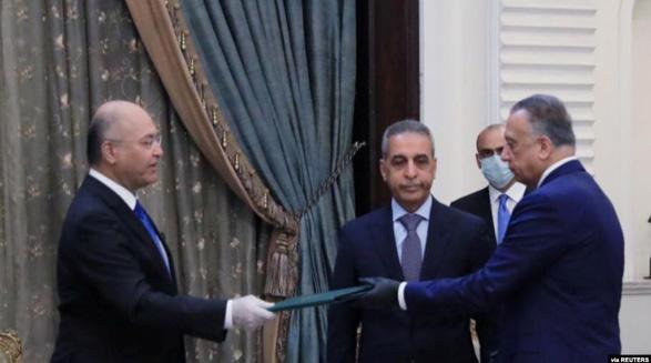 رای اعتماد به نخست وزیر جدید عراق؛ آمریکا از دولت جدید در این کشور استقبال کرد