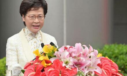 قانونگذاران بریتانیایی خواهان تحریم رهبر هنگ کنگ هستند