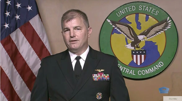 سنتکام: ایالات متحده اقدام «غیرمسؤولانه» ایران در پرتاب موشکها در نزدیکی مسیر حمل و نقل دریایی را محکوم میکند