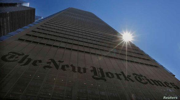 نیویورک تایمز بخش دیجیتال خبر خود را از هنگکنگ به سئول منتقل میکند