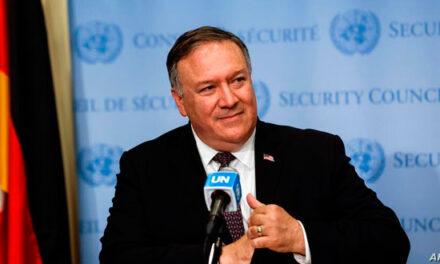 پمپئو در سازمان ملل: آمریکا اجازه نمیدهد رژیم ایران، بزرگترین حامی تروریسم جهان، اجازه خرید و فروش اسلحه داشته باشد