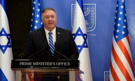 مایک پمپئو: جامعه جهانی باید مانند اسرائیل و کشورهای منطقه از تمدید تحریم تسلیحاتی ایران حمایت کند
